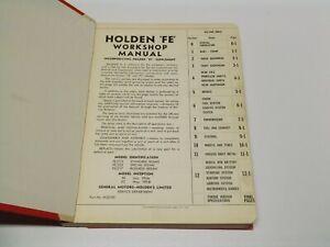 Factory GMH Holden FE FC Workshop Manual M32590