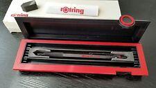 ROTRING 600 pencil 0.5 mm (black) original black/red case, vintage 1980's