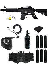 New HPA Tippmann US ARMY Alpha ELITE EGRIP Tactical Paintball Gun Mega Pack Kit