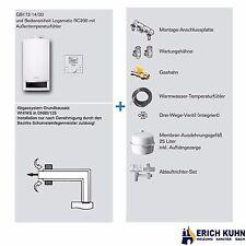 Buderus GB172 Gas Brennwert Komplettpaket mit 14 kW und WH/WS Abgassystem
