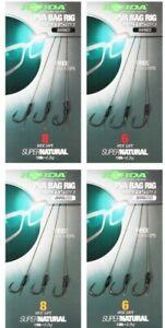 "Korda Solid PVA Bag Rig * Length 4.5"" * 18lb  * Carp Coarse Fishing Angling *"