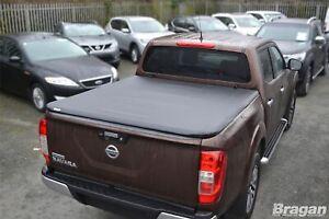 Tri Fold Soft Tonneau Cover For Nissan Navara NP300 16+ Back Rear Lid Cover 4x4