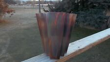 Handcrafted Copper Sconce with patina, Outdoor, Indoor, Theater, Porch