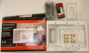 Legrand  HT2103WHV1 Home Theater Connection Kit New Open Box