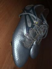 Adidas Soccer Shoes Messi 15.1 Fg/Ag B23773 Size 8.5 Soccer Cleats Metallic Blue