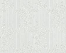 Vliestapete Landhaus Weiß Glitzer / A.S. Creation OK 7 / AS 3107-29 / 2,53 €/qm