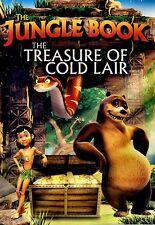BRAND NEW CHILDREN'S  DVD // THE JUNGLE BOOK // THE TREASURE OF COLD LAIR // 72m
