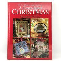 A Cross Stitch Christmas HEARTFELT HOLIDAYS Better Homes and Gardens Patterns