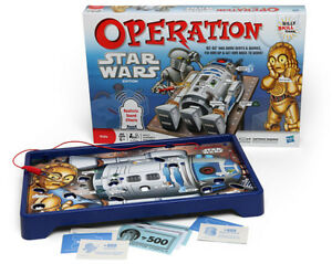 Star Wars Operation Game Replacement Parts & Pieces 2012 Funatomy MB Hasbro