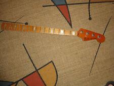 VINTAGE 1978 FENDER JAZZ BOUND/BLOCK MAPLE BASS NECK - FULLERTON CA, USA