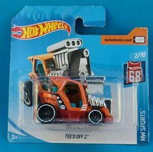 2018 Mattel Hot Wheels 5/5 HW SPORTS TEE'D OFF 2 #322/365