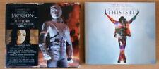 MICHAEL JACKSON - THIS IS IT (BOOKLET + 2CDs) plus History (2 cassette box set)