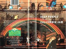 (VHS) Deep Purple - Live At The California Jam - Smoke On The Water, Burn,u.a.