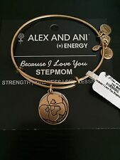 "ALEX AND ANI ""STEP MOTHER MOM"" BRACELET IN RUSSIAN GOLD NWT SOLD OUT"