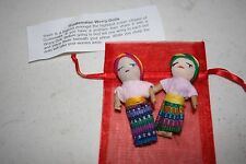 2 - TWO INCH WORRY DOLLS IN BAG ~ NEW
