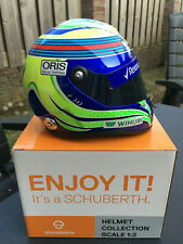 Felipe Massa 1:2 helm 2016 Williams FW38 helmet NEW Schuberth