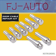 8 Set New Cab Rear Door Latch Cable Repair  For Ford F Series F150, F250 & F350