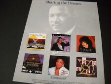 Sharing The Dream Vickie Winans Zion Jennifer Holliday etc 1995 Promo Poster Ad