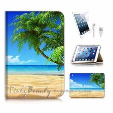 ( For iPad mini Gen 1 2 3 ) Flip Case Cover PB10282 Beach