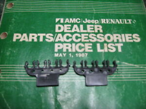 AMC Jeep Valve Cover Spark Plug Wire Loom Separator Attaches To Valve Cover