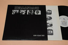 HELLANBACH LP HEAVY METAL 1°ST ORIG 1983 EX ! NOW HEAR THIS-AUDIOFILI TOP EX !