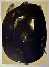 ROBERT MOTHERWELL Nocturne ELEGY Original Lithograph Handmade Japan Chine Colle