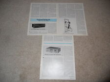ADC SoundShaper Three Equalizer Review, 3 pg, 1979, Full Test
