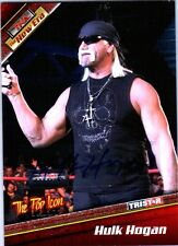 TNA Hulk Hogan H2 2010 Tristar New Era RED Authentic Autograph Card SN 1 of 9
