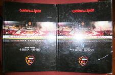 Corriere dello Sport # OTTANT'ANNI IN GIALLOROSSO # A.S.Roma 1927-2007 # 2 VOLL