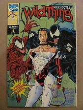 Wild Thing #1 Marvel UK 1993 Series Venom Carnage Embossed Cover 9.4 Near Mint