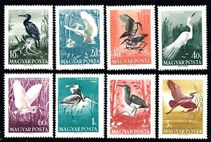 HUNGARY #1233-1240 MNH COMPLETE SET OF BIRDS
