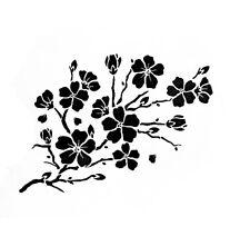 Cherry Blossom Stencil Durable & Reusable Plastic Stencils 7x5