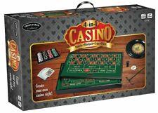 Front Porch Classics 53324 4-in-1 Casino Roulette Blackjack Poker Craps