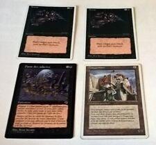 Lot de 4 cartes Magic, 2 Terror, Danse des cadavres - 4th edition, Tempest