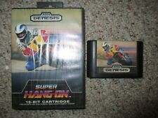 Super Hang-On  (Sega Genesis, 1989) w/ Case