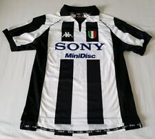 Maillot Juventus 1997/98 Home Shirt Kappa Taille M Super Etat Del Piero Zidane