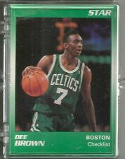 Dee Brown 1991 Star Company 11-card Boston Celtics Glossy NBA Set #/250