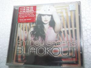 Britney Spears Blackout CD 2007 gimme more radar RARE INDIA HOLOGRAM NEW sticker