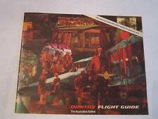 1970'S QANTAS FLIGHT GUIDE BOOKLET - THE AUSTRALIAN AIRLINE - TUB RH-3
