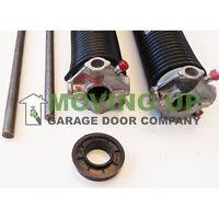 Garage Door Torsion Springs 207 X 2 X 21-32 Pair-New Pair - .207-21
