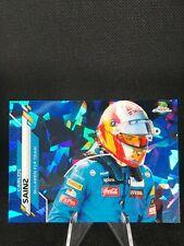 2020 Topps Chrome Sapphire Formula 1 Carlos Sainz Card #181 NM/MINT