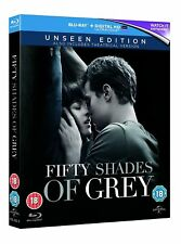 Fifty Shades of Grey: The Unseen & Theatrical Editions. Blu-ray REGION FREE NEW✔