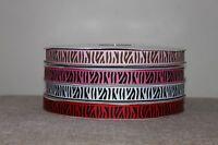 Zebra print ribbon, animal print ribbon 4 colours various lengths cake/gift