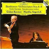 Beethoven: Violinsonaten Nos. 6-8 (CD 1995) Gidon Kremer, Martha Argerich