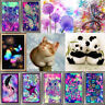 Animals Flower DIY 5D Diamond Painting Embroidery Cross Craft Stitch Art Decor