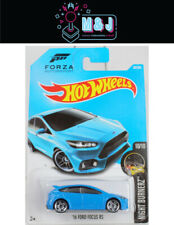 Hot Wheels '16 Ford Focus RS Blue Forza Motorsport 90/250  (Aussie Seller)