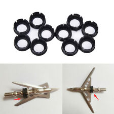 10Pcs Shock Collar Performance O-Ring For Rage Rear Deploying Broadheads s/