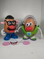 TOY STORY Mr. POTATO HEAD lot. Buzz Lightyear & Mr potato head COLLECTABLE
