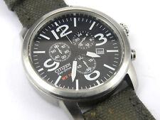 Mens Citizen Eco Drive Solar H500 Military Chrono Watch - 100m