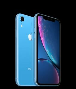 Blue iPhone XR 64gb CDMA + GSM (Any carrier)